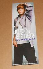 Justin Bieber My World Calendar Poster 2-Sided Original 18x6