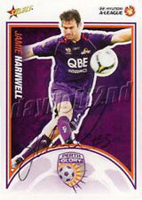 ✺Signed✺ 2009 2010 PERTH GLORY A-League Card JAMIE HARNWELL