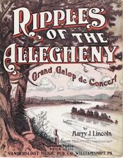 Ripples of the Allegheny, Harry Lincoln,  1912
