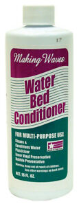 Making Waves 16 oz. Water Bed Conditioner Multi Purpose Prevents Bubbles 1WC