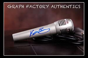 GFA American Pop Singer RYAN BEATTY Signed Microphone AD1 COA
