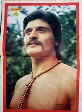 MANUEL SIERRA => POSTER RECORTE de prensa 2 PAGINAS  (año 1973)