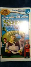 Shrek Vhs Sealed Brand New Clamshell Rare Edition!