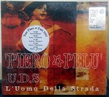 PIERO PELU' U.D.S. L'UOMO DELLA STRADA CD DIGIPACK SEALED
