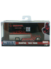 Jada Metal Die Cast Deadpool Taco Truck 1:32 Scale Black Version Marvel Comics