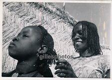 MOYEN-CONGO c. 1940 - Femme et Fille Sara de Kyabé Coiffure - PA27