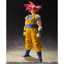 Bandai S.H.Figuart Dragon Ball Z Super Saiyan God Son Goku Japan version