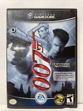 James Bond 007: Everything or Nothing Nintendo GameCube Disc & Case