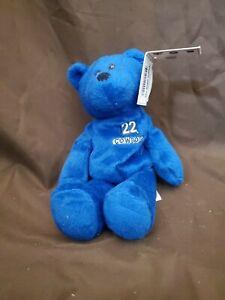 Retired Emmitt Smith Beanie Baby bear Limited Treasures Dallas Cowboys 1998 tags