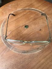 Vintage Saxon Eye Glasses with Gold color frames Metal, 52-20-135 Rx Lens