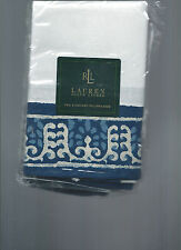 Ralph Lauren Seychelles Batik Border Blue Standard Pillowcases New