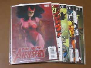 NEW AVENGERS #26 - 31 VF-NM COMPLETE SET REVOLUTION SCARLET WITCH BENDIS RONIN