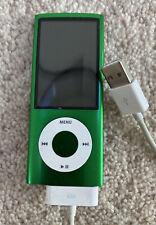 Apple iPod Nano Green 5th Generation 8 GB Model A1320