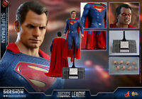 Hot Toys DC Comics Justice League Superman Henry Cavills 1/6 Figure In Stock
