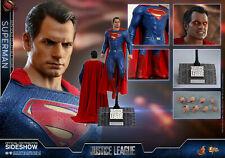 Hot Toys DC Comics Justice League Superman Henry Cavills 1/6 Figure In Stock
