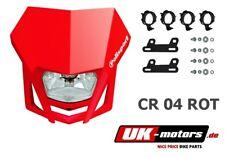 Polisport Lmx Máscara de la Lámpara rojo Husaberg fe 350 390 400 450 501