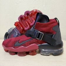 Nike Vapormax Premier Flyknit Athletic Shoes Team Red Black SZ ( AO3241-600 )