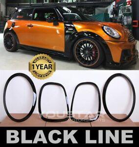 UK STOCK BLACK LINE for MINI Cooper F55 F56 F57 JCW Headlight & Rear light Trims