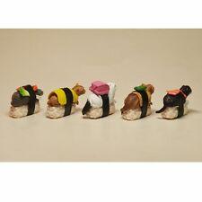 5 Pcs/Set Cute Sushi Neko Cat Club Capsule Meow Mini Figure Kitty Collection