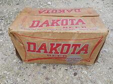 Old Vintage Box Crate Dakota Malting & Brewing Beer Brewed Heart Barley Country