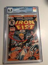 MARVEL PREMIERE #15 - CGC 6.5 off white to white pages 1ST IRON FIST DANNY RAND