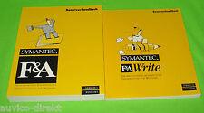 Symantec F&A Write Benutzerhandbuch Version 1 Version 3.0 Windows 01-31-90002-GE