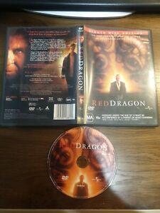 RED DRAGON horror 2002 DVD near NEW Anthony Hopkins Silene Lambs free post