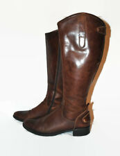 LADIES DESIGNER TREMP MADE IN ITALY LEATHER BROWN BOOTS SIZE EU37/38 ?
