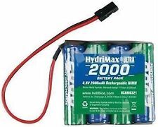 HYDRIMAX NIMH 4C 4 CELL 4.8V 2000MAH FLAT AA SIZE RECEIVER RX BATTERY HCAM6321