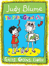 """VERY GOOD"" Blume, Judy, Going, Going, Gone! (Pain & the Great One), Book"