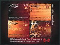 Tonga 2014 Weihnachten Musik Christmas Music Postfrisch MNH