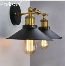 Vintage Retro Wall LAMP Black Industrial Home Decor
