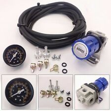 Universal Blue Turbo Manual Boost Controller with Gauge 1-150 PSI MBC SR20DET SR