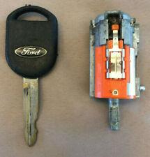 Ford 2001 - 2005 Explorer Sport Trac OEM Ignition Cylinder and Transponder Key