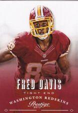 Fred Davis  2013 Panini Prestige Football Sammelkarte, #198