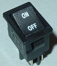 Mini Balancent Interrupteur, 13x19,5 installation commutateur, on/off, 2 broches avec inscriptions, s39