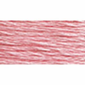 Stranded Cotton Six Strand Embroidery Floss Thread, Light Dusty Rose, 8.7 Yard