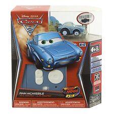 Disney Pixar Cars 2 Air Hogs RADIO CONTROL R/C Micro Car ~ FINN MCMISSIL Vehicle