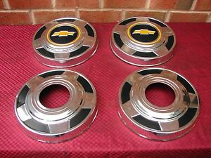 73-87 CHEVROLET K10 BLAZER 4X4 4 WHEEL DRIVE HUBCAPS    EARLY TAKE OFFS   NICE!!