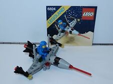 LEGO SPACE No 6824 SPACE DART 1 100% COMPLETE + INSTRUCTIONS 1980s