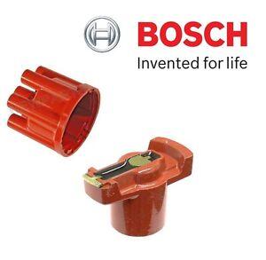 For W111 W114 W113 W108 W109 Pair Set of Distributor Cap & Ignition Rotor Bosch