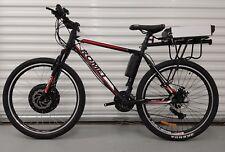 "Custom ROMET bici elettrica 48 V 1000 W 26"" RUOTA MOZZO ANTERIORE MOTORE 48 V 20ah BATTERIA"