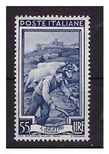 ITALIA 1950 - ITALIA AL LAVORO Lire 55  NUOVO **