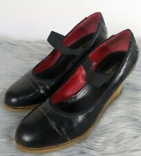 MAX & CO Heels Wedges Size 40/9 Mary-Jane Smart Casual by Max Mara Womens Black