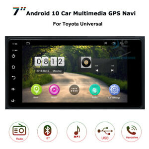 """7"""" Bluetooth Android 10 Car Radio Stereo GPS Head Unit for Toyota Avensis Verso"""