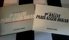 MITSUBISHI 9 th PARIS ALGER DAKAR 1987 4WD PAJERO UNRIVALLED KING OF DESERT BOOK