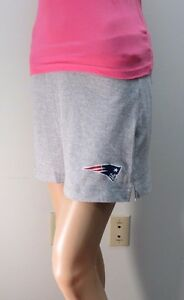 NFL for Her New England Patriots Athletic Cotton Shorts  Sz: S M L XL