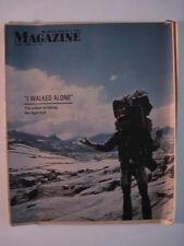 Louisville Courier Journal Magazine, 1973. Mountain Climbing!  Marlon Brando!