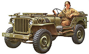 Tamiya 1/35 U.S. Willys MB Jeep Plastic Model  Assembly Kit #35219