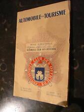 revue 1954 automobile club officiers tourisme militaire